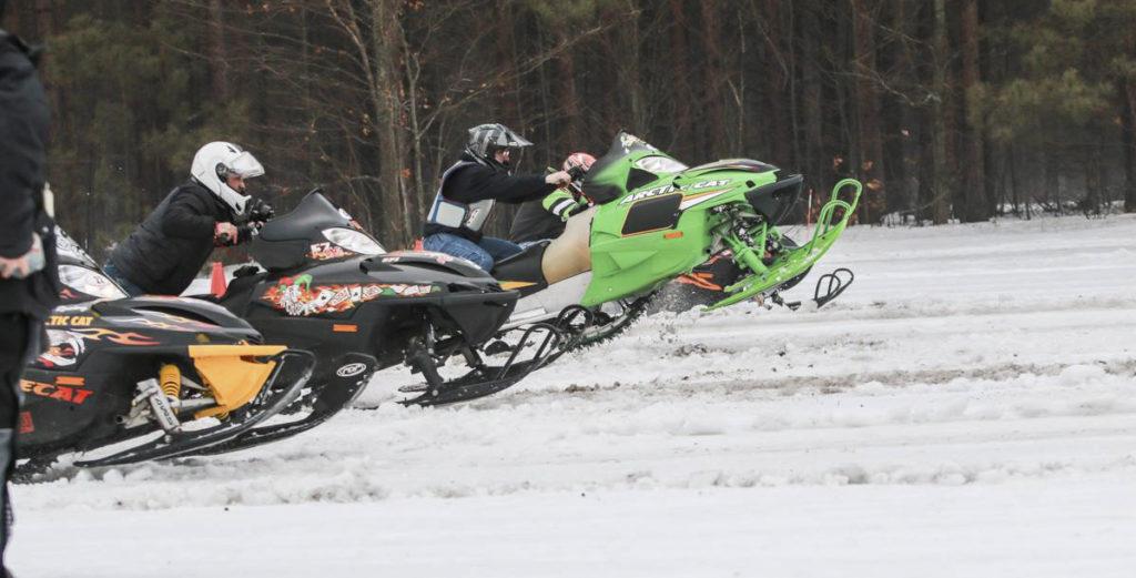 empire snowmobile drag race roy taghon memorial empire chamber
